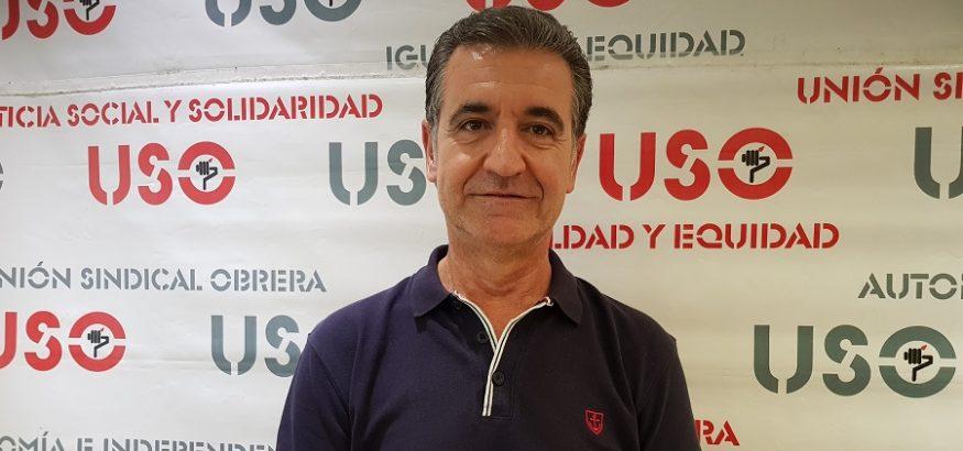 Jesús Postigo, coordinador general del sindicato USO-Andalucía, analiza los datos del paro de 2019