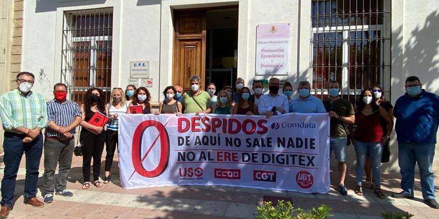 USO denuncia que el ERE de 78 personas en Digitex-La Carolina, en Jaén, no tiene fundamento