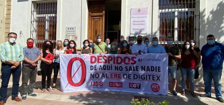 USO firma el acuerdo que revierte el ERE de Digitex y salva 78 empleos en La Carolina, Jaén