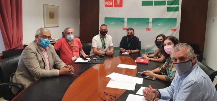 FI-USO aborda con el PSOE la situación del sector aeronáutico. Sindicato USO-Andalucía