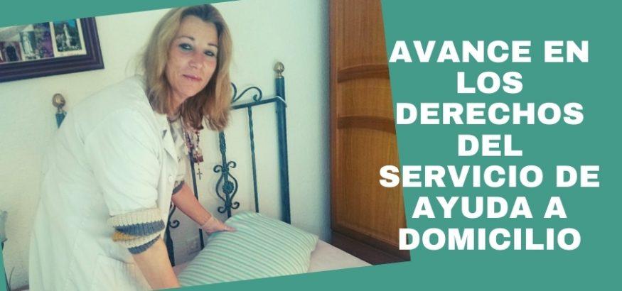 Avances en los derechos del Servicio de Ayuda a Domicilio en Andalucía. Sindicato USO-Andalucía
