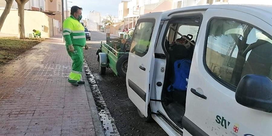 Renovamos delegados en la concesionaria de jardines del Ayuntamiento de Almería. Sindicato USO-Andalucía
