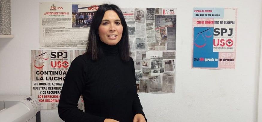 La granadina Gema Benítez, nueva secretaria general de SPJ-USO. Sindicato USO-Andalucía