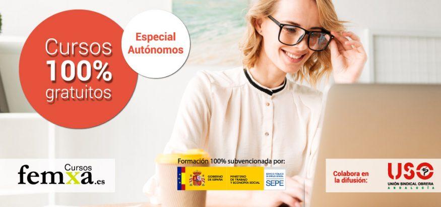 ¿Sois autónomos en Andalucía? También hay cursos gratuitos específicos