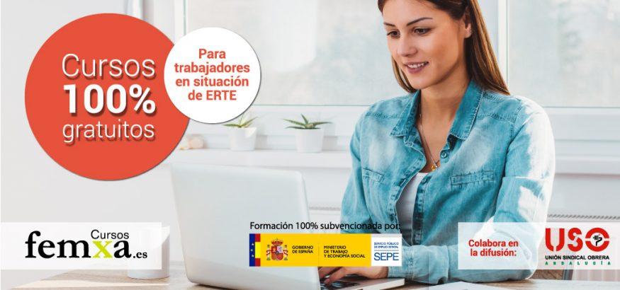 Cursos gratuitos para personas en ERTE en Andalucía