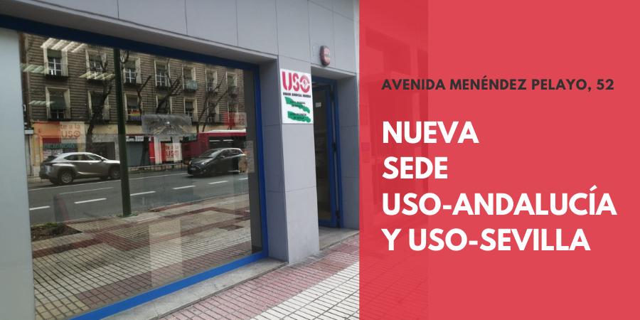 Nueva sede de USO-Andalucía y USO-Sevilla