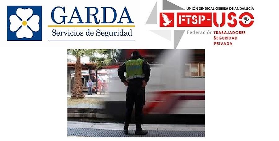 La FTSP-USO Andalucía denuncia a Garda Seguridad