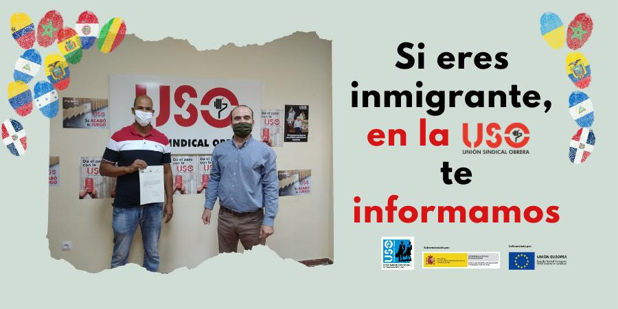 Programa de Asesoramiento y Empleo para personas inmigrantes 2021 de USO-Andalucía