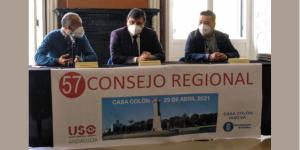 USO-Andalucía celebra su Consejo Regional en Huelva en pleno crecimiento del sindicato