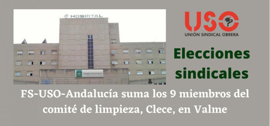 La Federación de Servicios suma todo el comité de limpieza en las elecciones sindicales en Valme