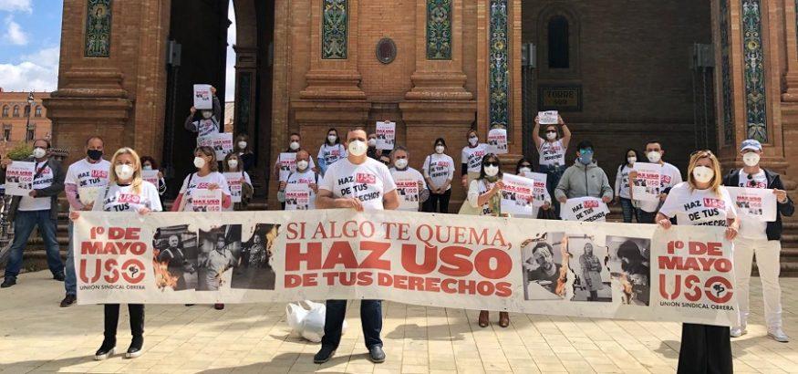 1 de Mayo en Sevilla y Cádiz: Haz USO de tus derechos