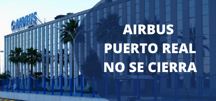 USO-Andalucía reclama una solución al cierre de Airbus Puerto Real