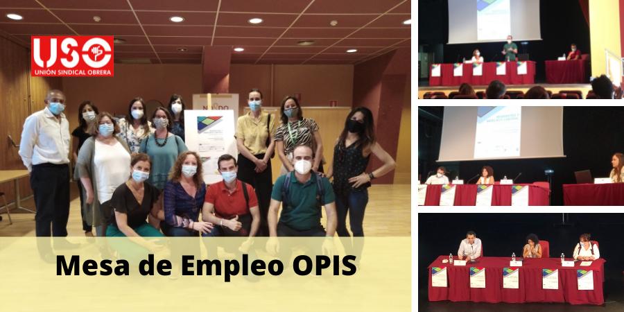 USO, en la Mesa de Empleo OPIS: III Encuentro con Empresas