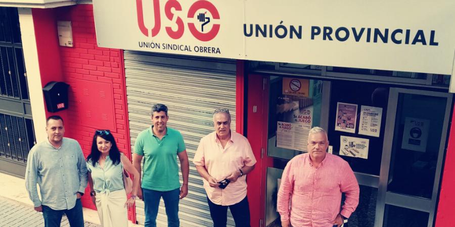 El secretario general de FTSP-USO, en las jornadas de trabajo de la Ejecutiva de Andalucía