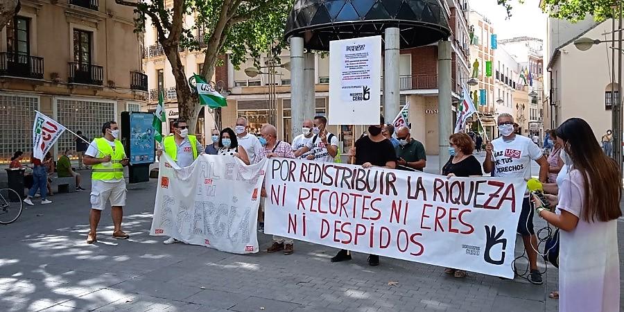 Sindicato USO-Andalucía. Los trabajadores de Emergía se movilizan contra el ERE