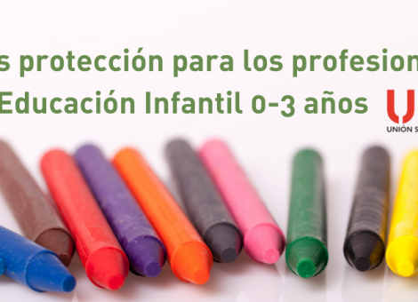 FEUSO pide incrementar la protección al inicio del curso de Educación Infantil